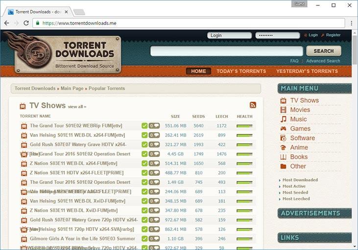 top music torrent site